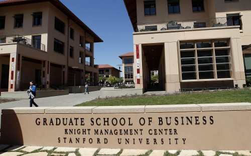 Stanford, a place full of ideas and great people...